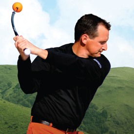 Orange Whip Golf Trainer